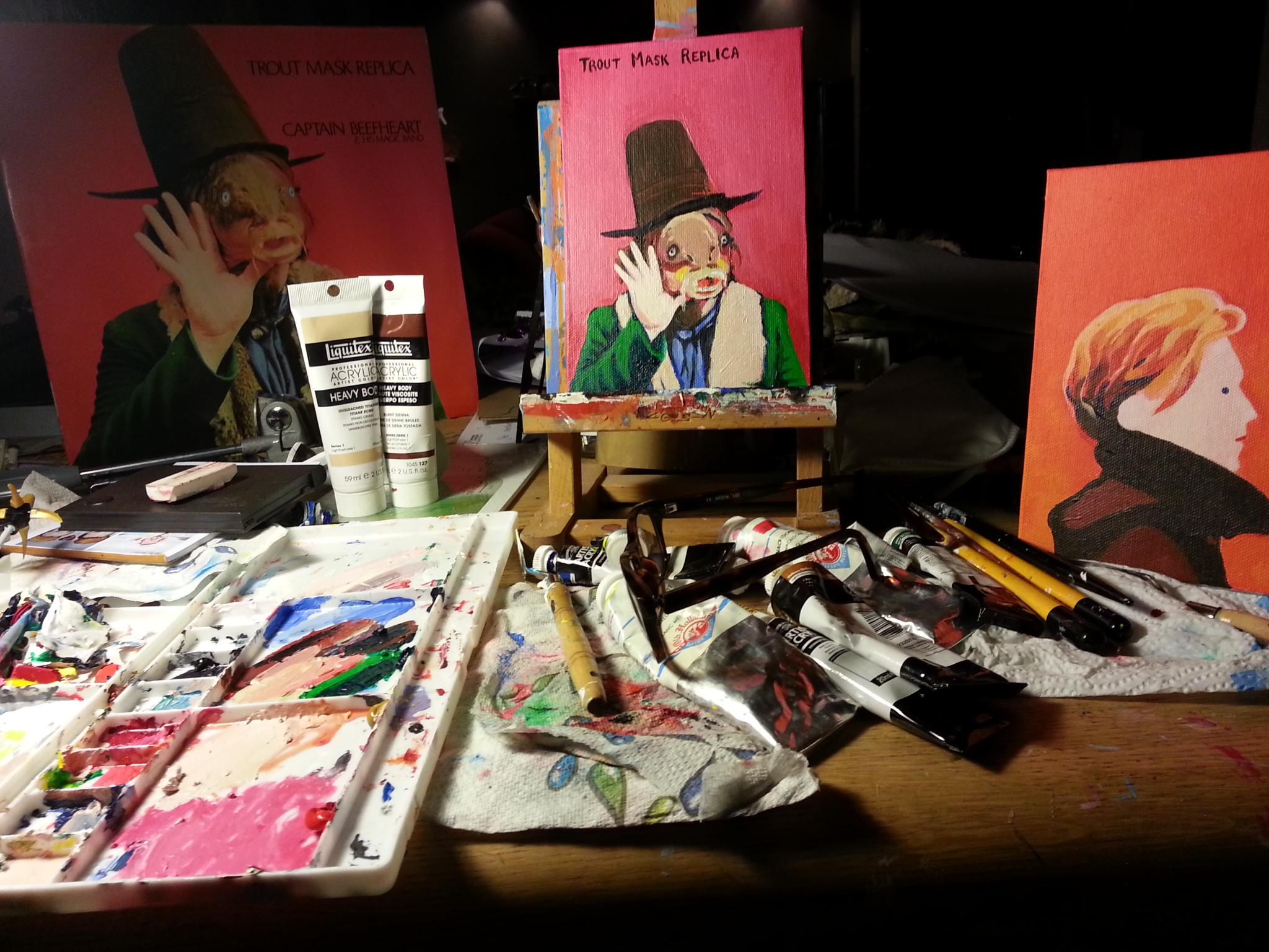 I paint too